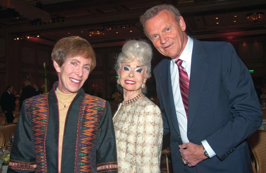 Cindy Goodman, Sally B. Thornton and Tom Goodman