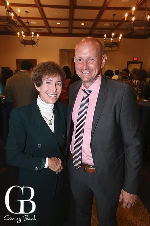 Cindy Goodman and John Reilly