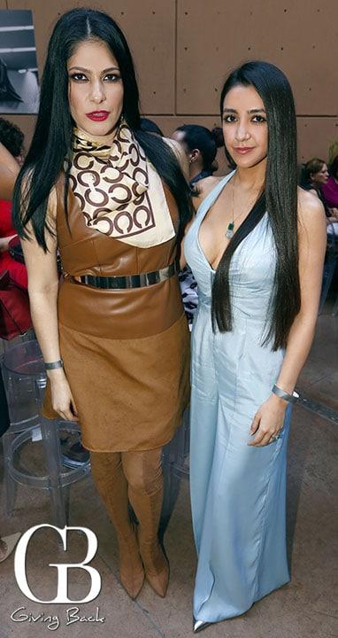 Cinthia Barragan y Esmeralda Morales