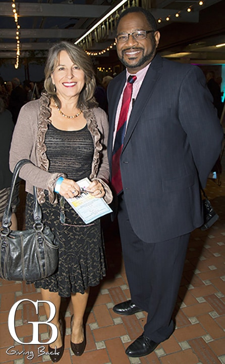 City Councilwoman Lorie Zapf and Bruce Williams