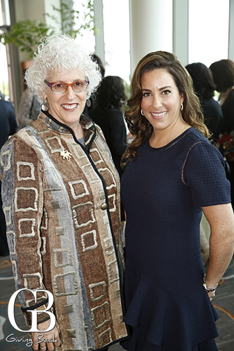Claire Ellman and Alexandra Hirschhorn