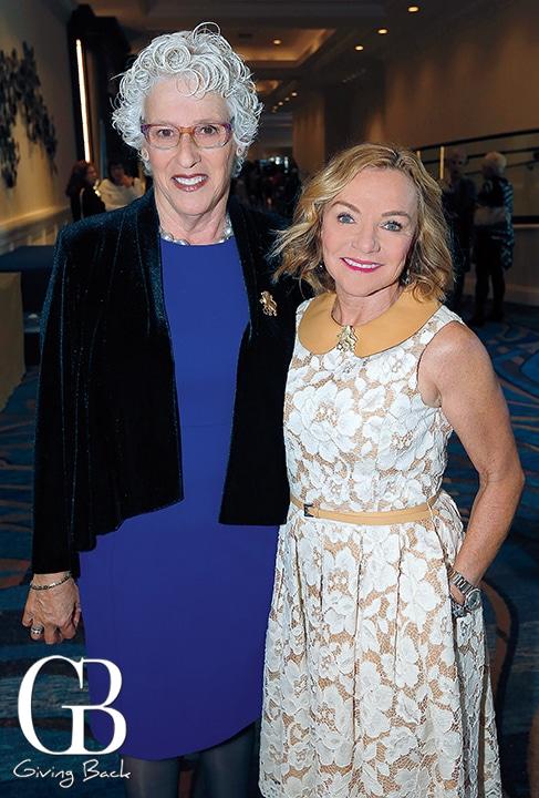 Claire Ellman and Lori Polin