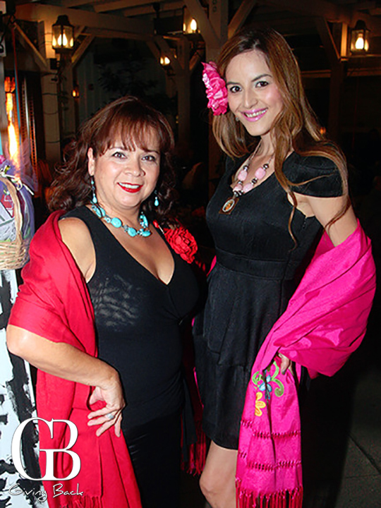 Clara Aguilera and Jackie Tapia