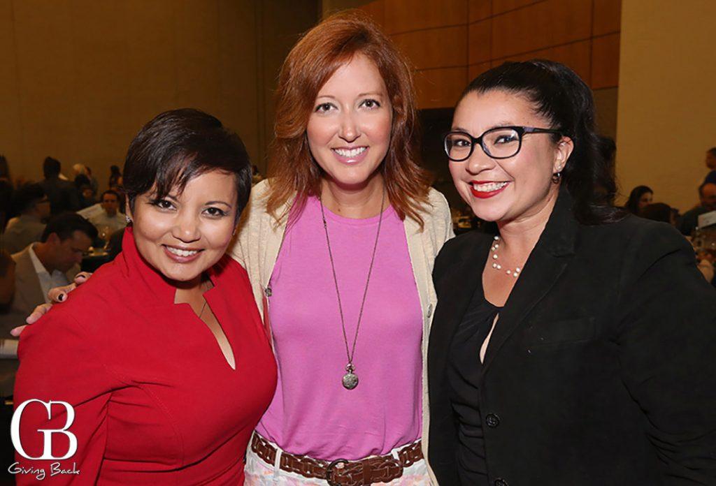 Clarissa Falcon  Melanie Nally and Alejandra Sotelo   Solis