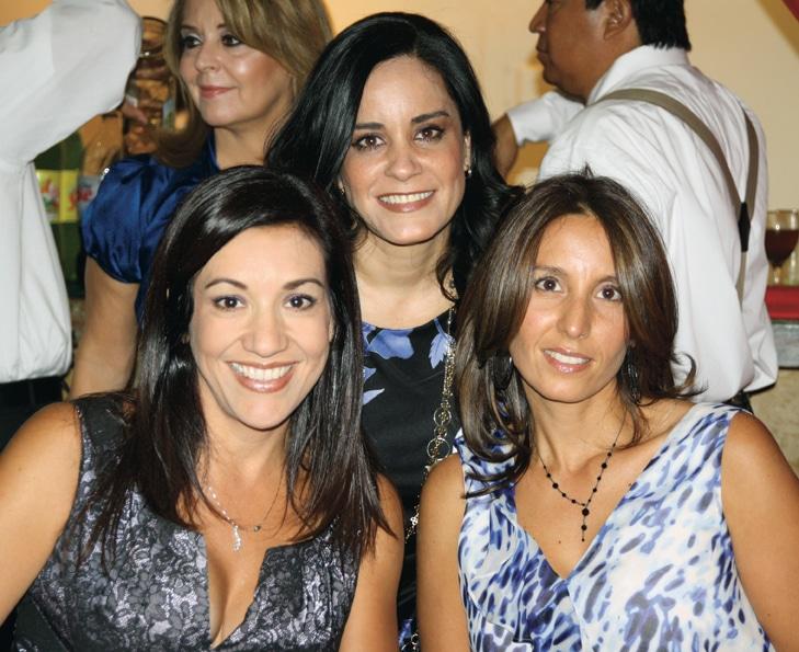 Claudia Luna, Katia Lopez y Sohela Aragon