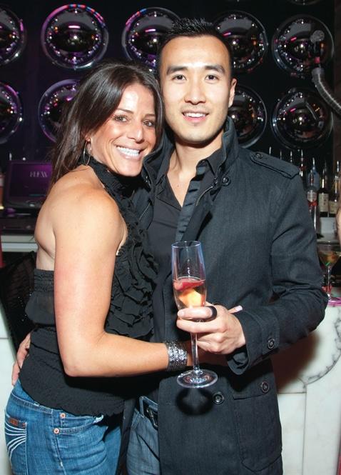Claudia Susi and Peter Cha