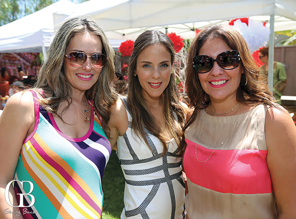 Claudia Fernandez  Margartia Morphin y Karla Rodriguez