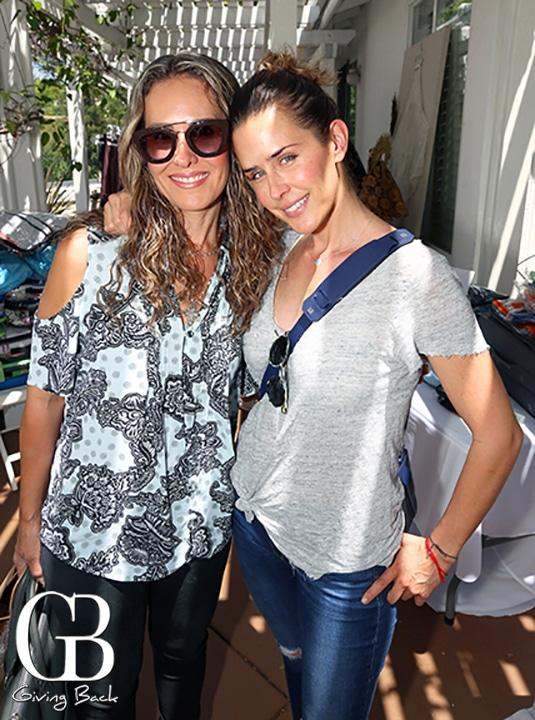 Claudia Fernandez y Bibi Kuri