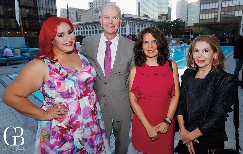 Claudia Sandoval Richard Cox  Consul Marcela Celorio and Martha Varela