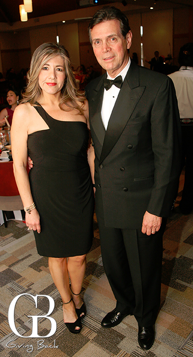 Claudia and Fermin del Castillo