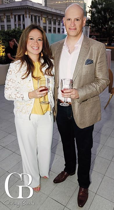 Claudia and Fouad Moawad