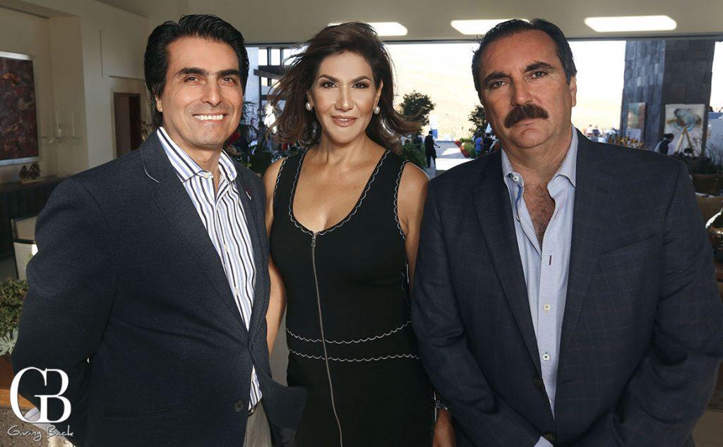Cleofas Arola  Mayra Limon y Roberto Encinas