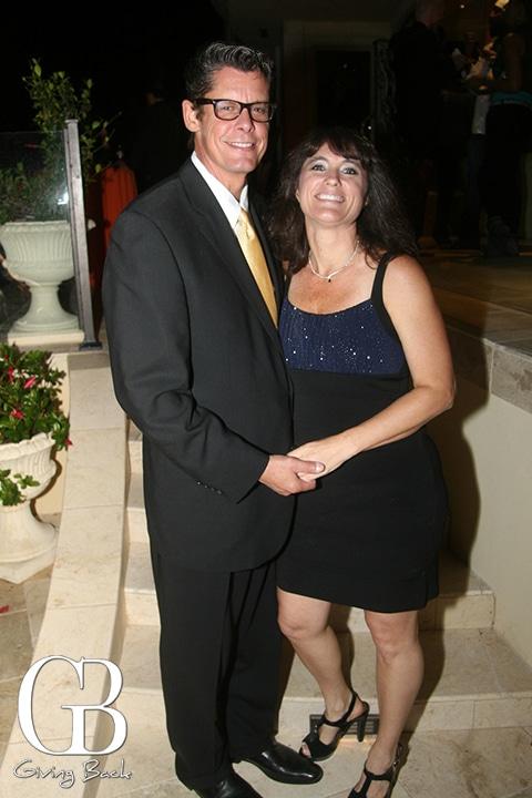 Clif Haney and Leslie Oliver