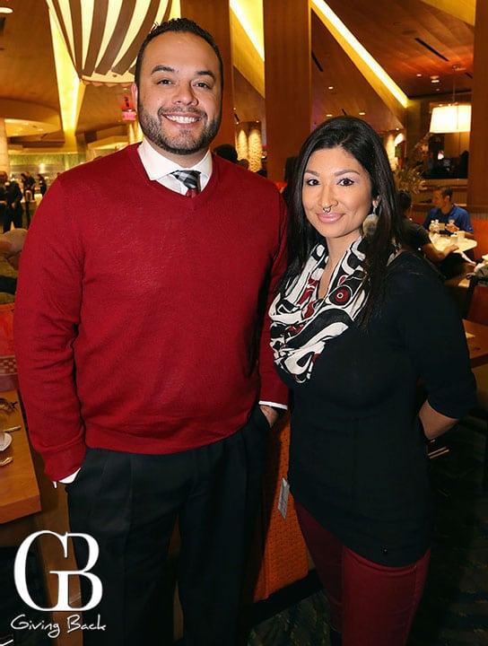 Cody Martinez and Charlene Worrell