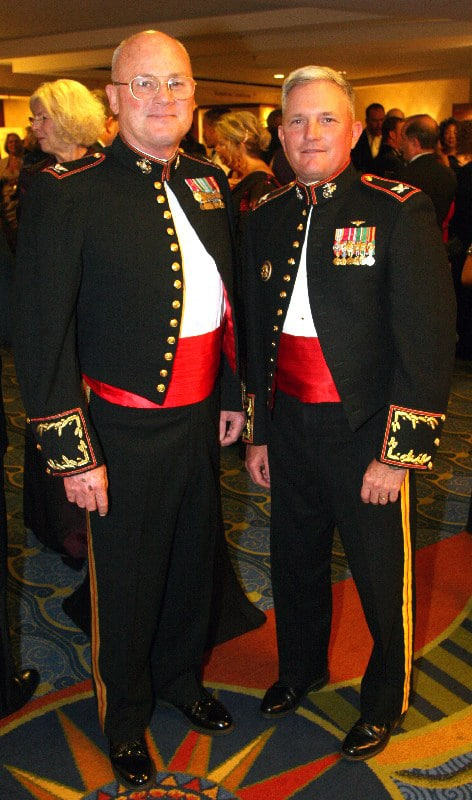 Colonel Rick Huenefeld and Colonel Mike Naylor.JPG