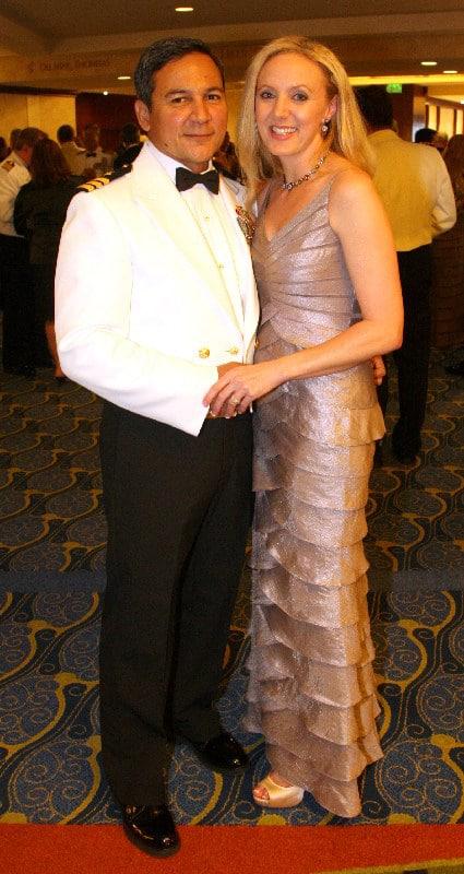 Commanders Reinaldo and Xanthe Rivera.JPG