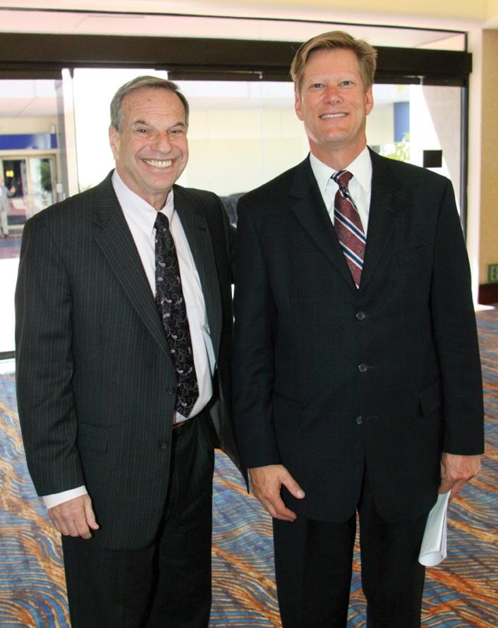 Congressman Bob Filner and Paul Webster.JPG