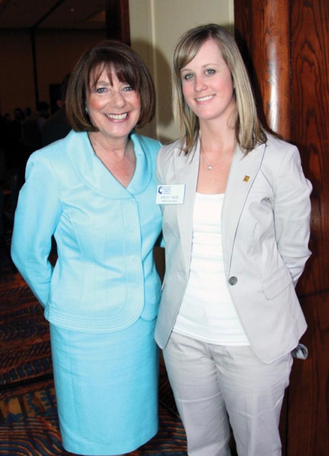 Congresswoman Susan Davis and Ashley Hause +.JPG