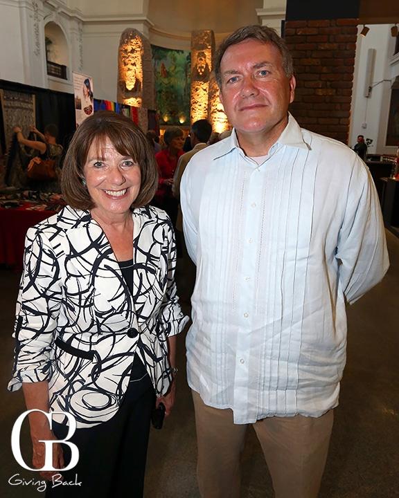 Congreswoman Susan Davis and Consul Andrew Erickson
