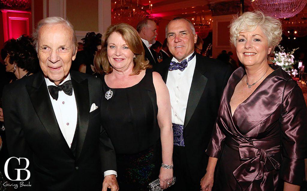 Conrad Prebys  Debbie Turner  Dean and Jan Patterson