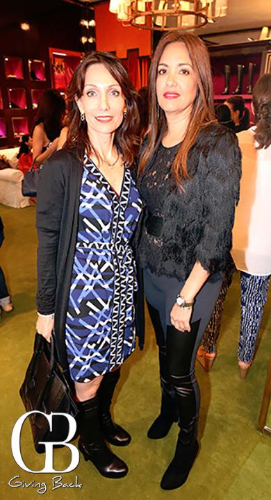 Consuelo Hernandez y Mayra Calva
