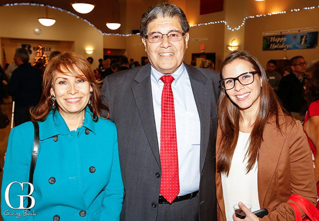 Consul Remedios Gomez Arnau  Richard Ybarra and Patricia Pinzon