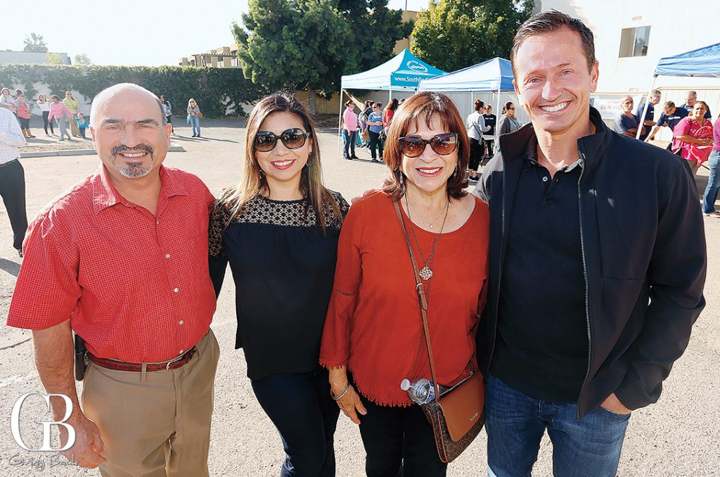 Councilman Mike Diaz  Patty Chavez  Mayor Mary Salas and Masis Kevorkian