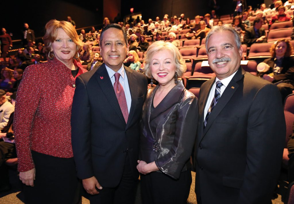 Councilmember Marty Emerald, George Ramirez, Kathi Diamant and Tom Karlo.JPG