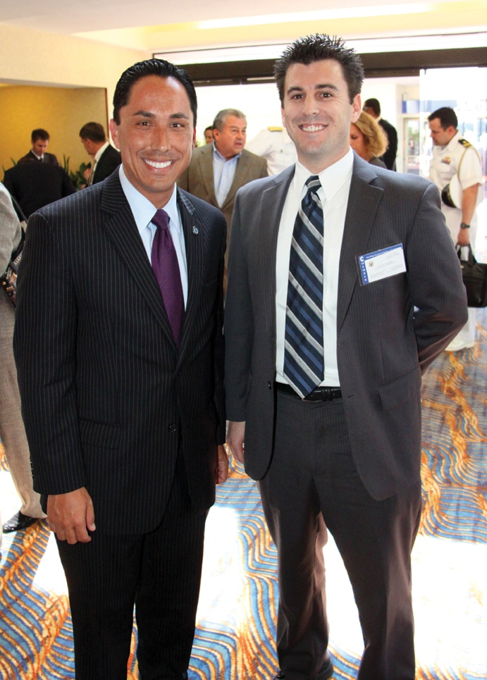 Councilmember Tod Gloria and Daniel Hazard +.JPG