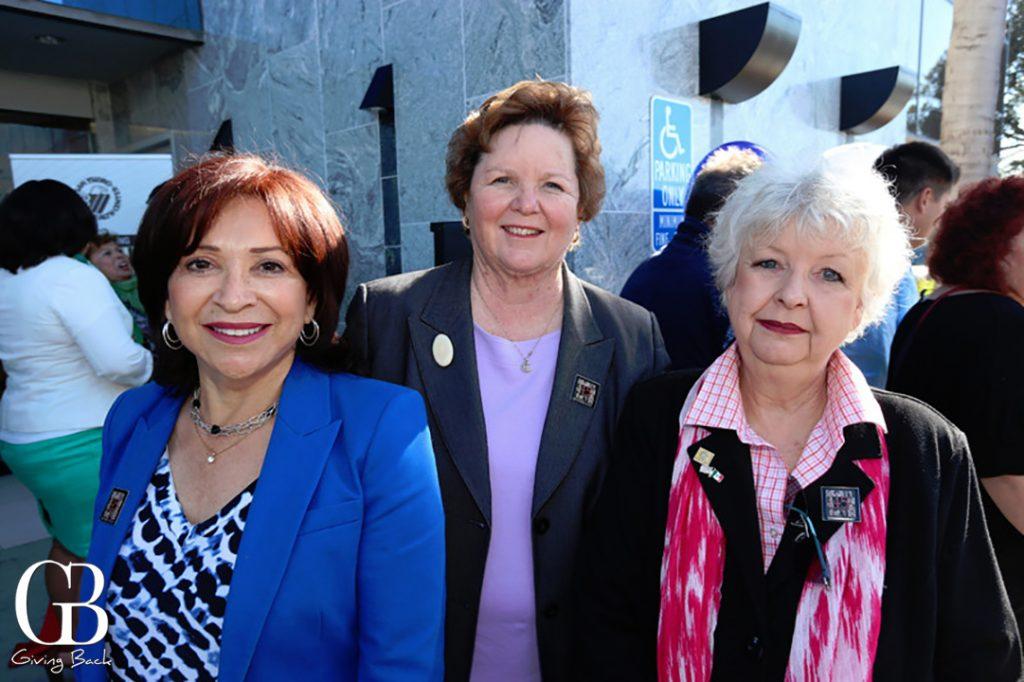 Councilmember Mary Salas  Mayor Cheryl Cox and Councilmember Pamela Bensoussan