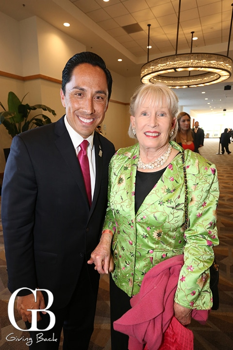 Councilmember Todd Gloria and Leanne  MacDougall