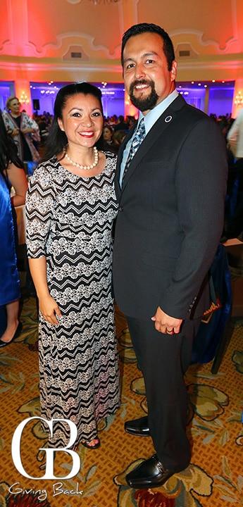 Councilwoman Alejandra Sotelo Solis and Arturo Solis