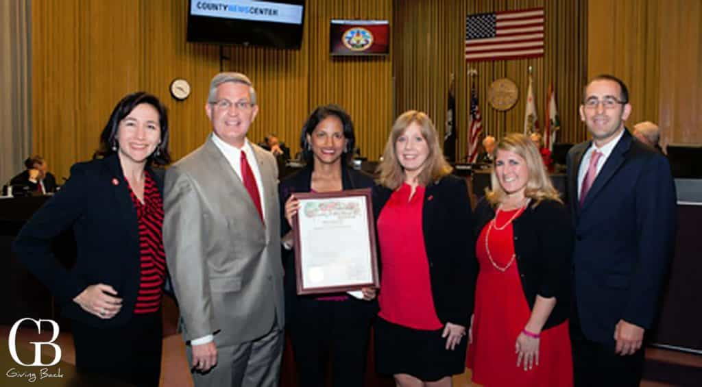 County Proclamation of Wear Red Day