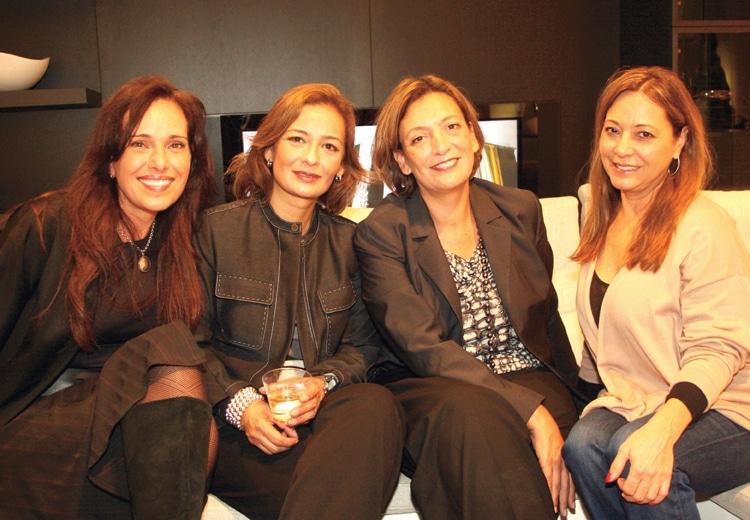 Cristina Artigas, Olga Miranda, Carla Ordonez and Chantal Le Claire.JPG