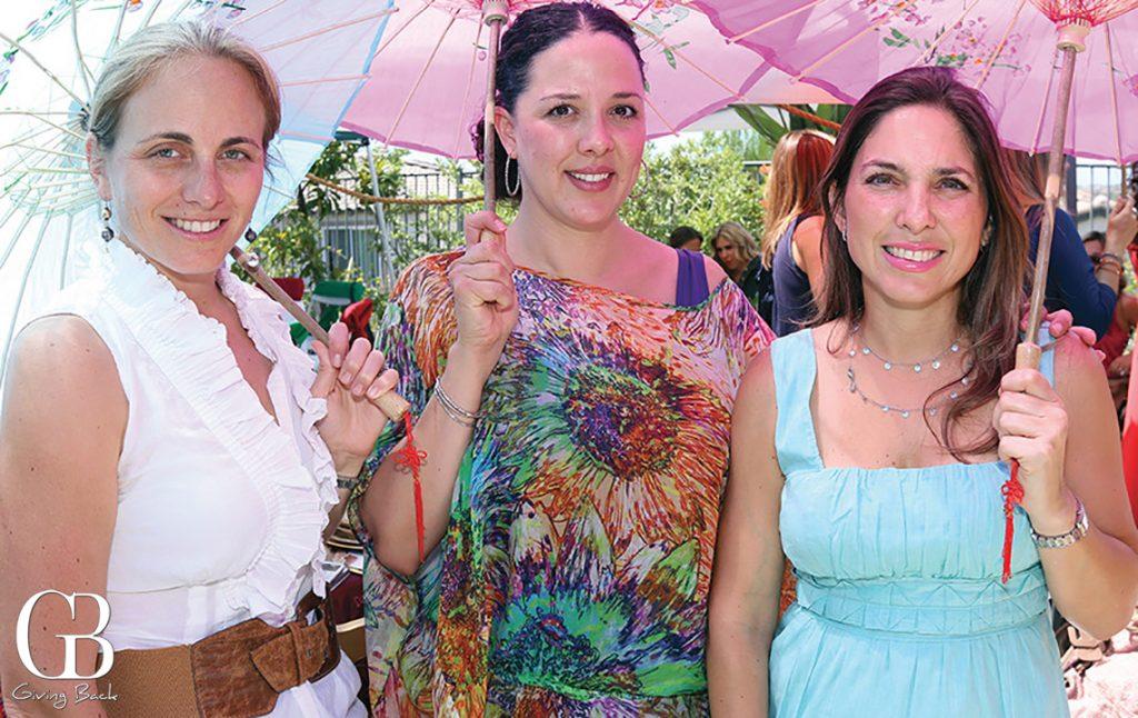 Cristina Aguilar  Ileana Lara y Monica Quiroga