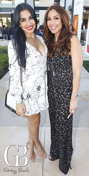 Cristina y Goli Sadeghi