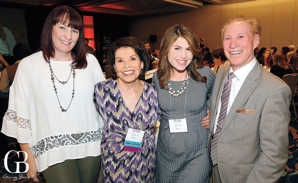 Crystal Glimka  Marie Raftery  Shana Hazan and Bob Rubenstein