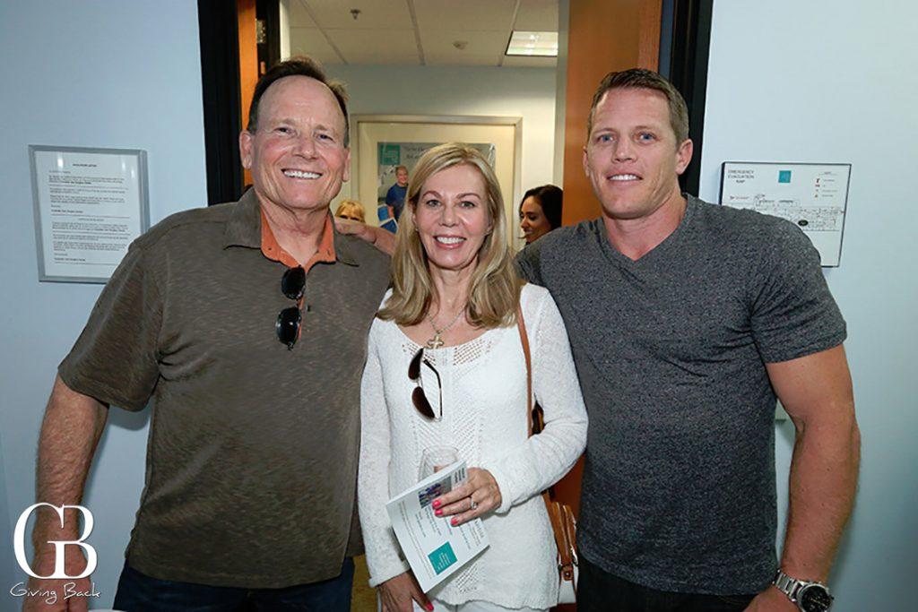 Curt and Karen Skinner with Kris Nielsen