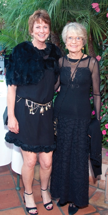 Cynthia Langdon and Kathleen Stiven