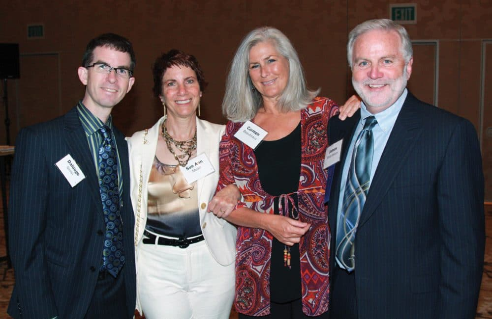 Dalouge Smith and Sue Ann Mead with Carmen and James Beaubeaux.JPG