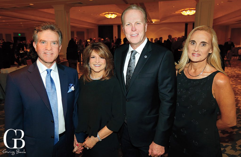 Dan Coden and Liz Nederlander Coden with Mayor Kevin Faulconer and Melissa Alegre