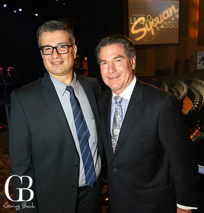 Dan Morales and Steve Garvey