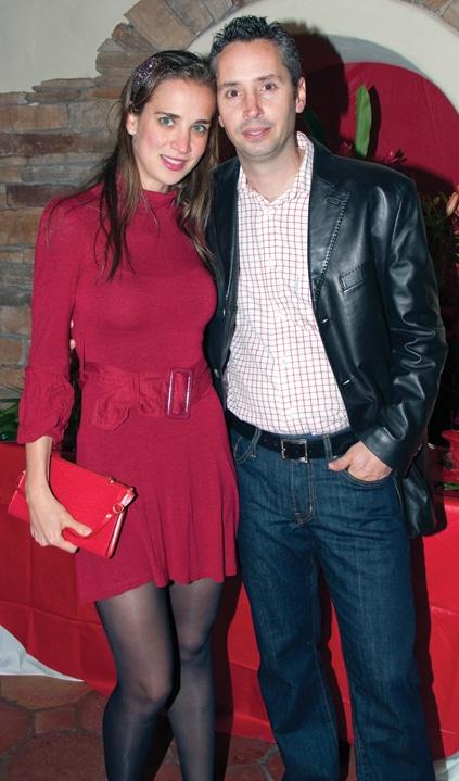 Daniella and Eduardo Escalante