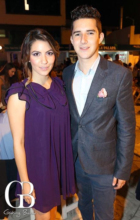 Daniella Carranza y Emilio De Conde
