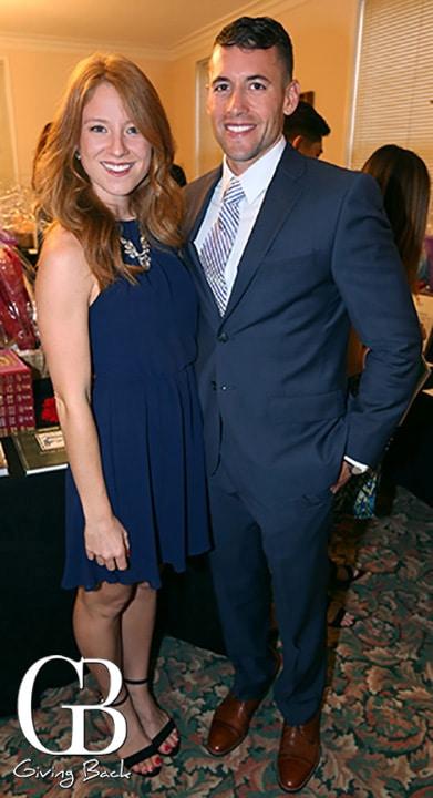 Danielle Lawson and Jameson Ware
