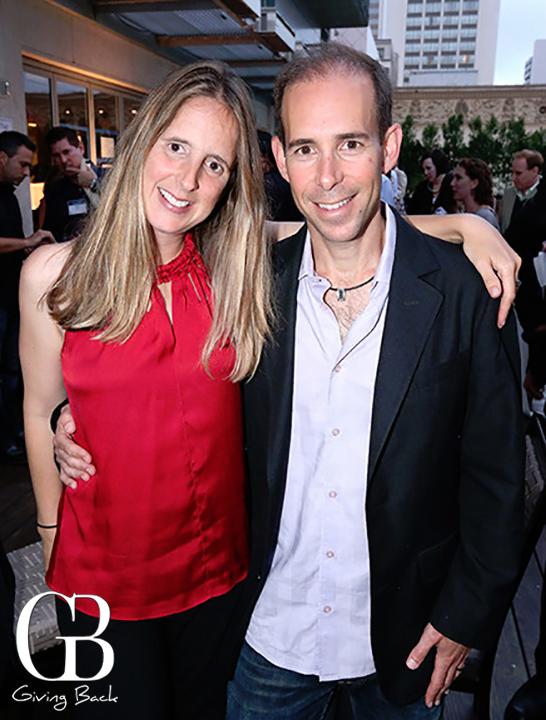 Danielle and Steve Shulman