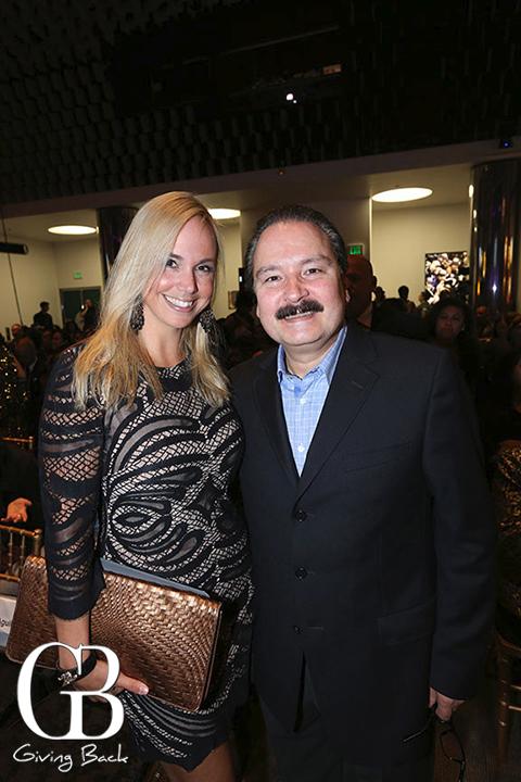 Danitza Villanueva and Antonio Aguilar Jr