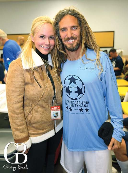 Danitza Villanueva and Rob Machado