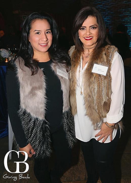 Dannia Segovia and Claudia de la Concha