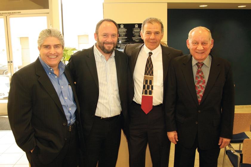 Danny Guefen, Max Freifeld, Enrique Schon and Howard Levenson.JPG